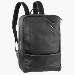 Zaino porta PC in pelle diagonal